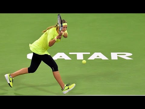2015 Qatar Total Open Day 1 WTA Highlights