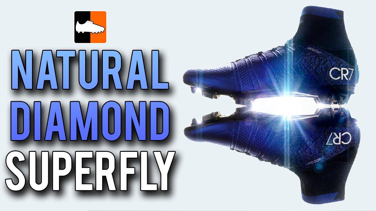 6fb32f27b23 Cristiano Ronaldo s Natural Diamond Mercurial