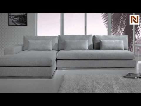 Light Grey Fabric Sectional Sofa Vgyic08b From Vig