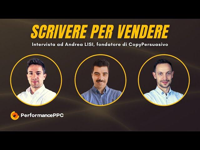 Scrivere per Vendere Online - Intervista ad Andrea LISI