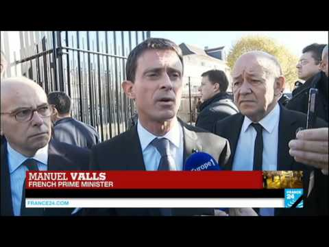 French PM Valls Reacts To Paris Attacks: