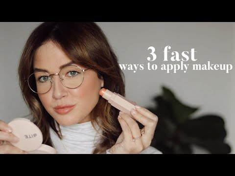 3 Fast & Easy Ways To Do Your Makeup