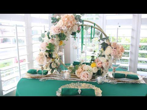 diy-dollar-tree-hula-hoop-wedding-centerpiece