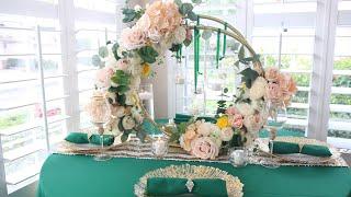 Diy Dollar Tree Hula Hoop Wedding Centerpiece