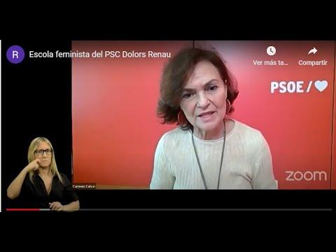 Escola feminista del PSC Dolors Renau