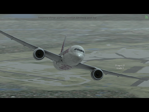 Infinite Flight Online Multiplayer. QATAR AIRWAYS Boeing-787-8/Takeoff From Schiphol (EHAM) Airport.