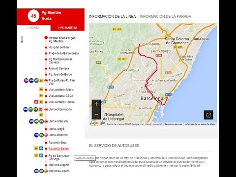 Barcelona - Recorregut en bus (16.09.2015)