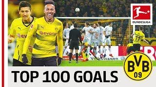 Top 100 Best Goals Borussia Dortmund - Vote for Reus, Aubameyang, Sancho & Co.