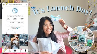 I Started a Business in a Global Pandemic│LAUNCH DAY VLOG Empyrean The Collective
