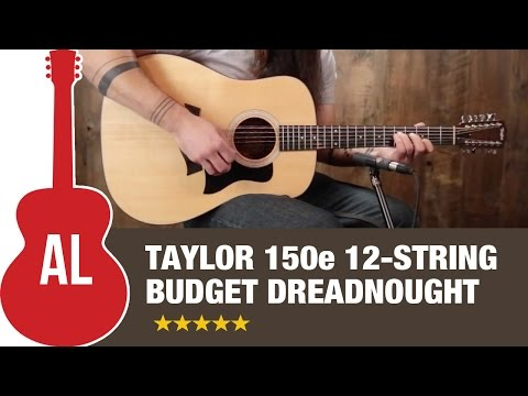 Taylor 150e 12-String Budget Dreadnought
