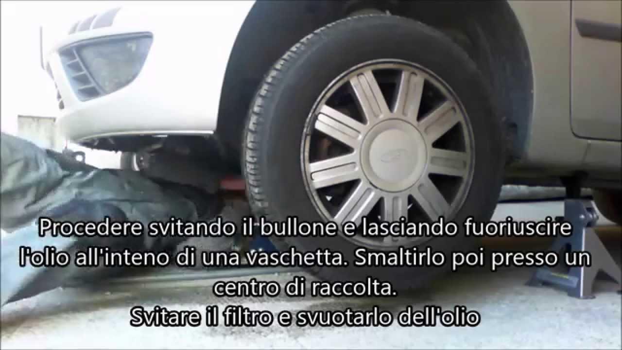 Cambio Dell Olio Motore Fai Da Te Bricolage Youtube