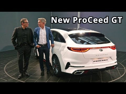 2019 Kia ProCeed GT, first pictures - YouTube