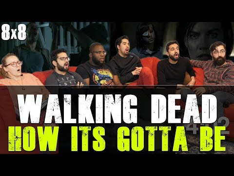 Walking Dead - 8x8 How Its Gotta Be - Group Reaction