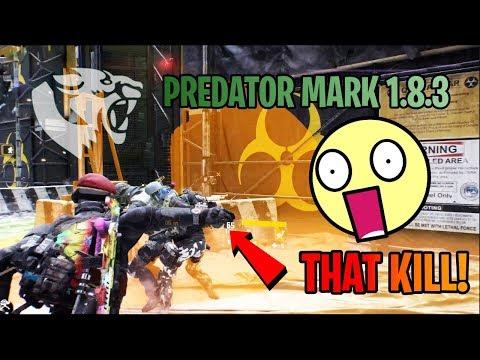ULTIMATE PvP & DZ Predator Mark Build 1.8.3   INSANE DPS   CRAZY BLEED!