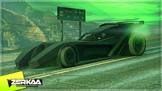 NEW $4,000,000 BATMOBILE IN MODDED WEATHER! (GTA 5)