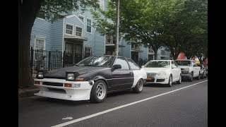 WE MADE IT TO NEW YORK   3500 Miles In AE86