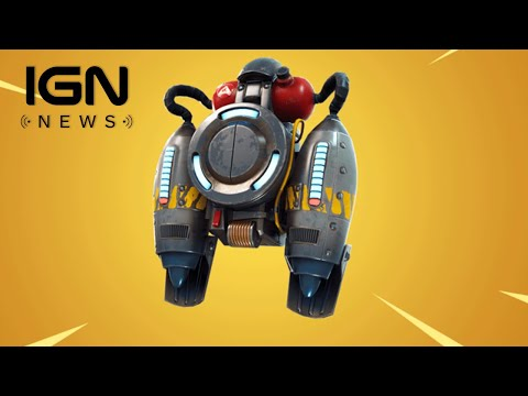 Jetpacks Are Already Changing Fortnite Within a Few Hours of Release - IGN News