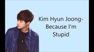 SS501 Because I M Stupid Lyrics Eng Rom