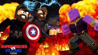 ROBLOX - SUPERHERO vs VILLAIN TYCOON!!