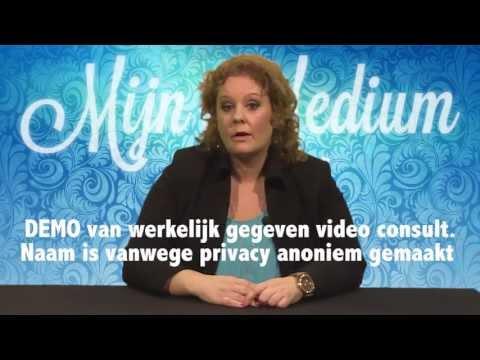Demo video consult gegeven door Danielle van der Mars via horoscopen.nl