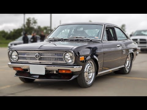 Datsun STREET RACES with FOUR SHIFTERS (Turbo Rotary!)