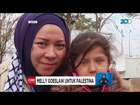 Melly Goeslaw & Opick Buatkan Lagu Untuk Warga Palestina