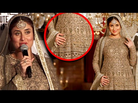 Kareena Kapoor Gets Emotional On Her Baby | Lakme Fashion Week 2016