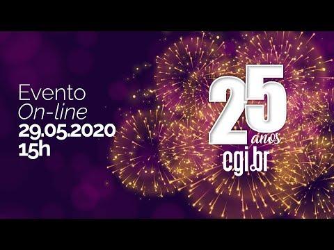 Evento on-line - 25 anos do CGI.br