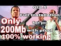 How to dawonload gta 5 and install for pc 100% working