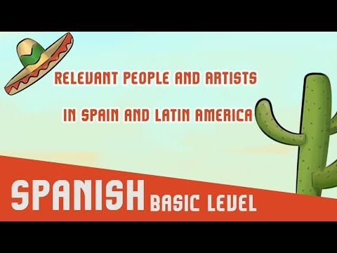 Relevant People and Artists in Spain and Latin America