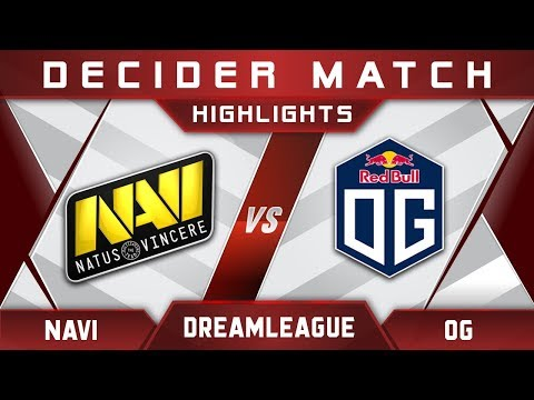 NaVi vs OG DreamLeague Major 2017 EU Highlights Dota 2 thumbnail