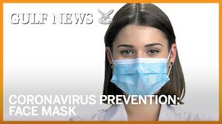 Coronavirus prevention: How to safely wear a surgical face mask