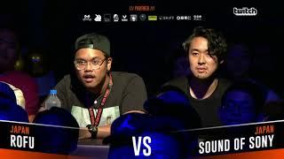 ROFU VS SOUND OF SONY|Asia Beatbox Championship 2018 Semi Final Tag Team Battle