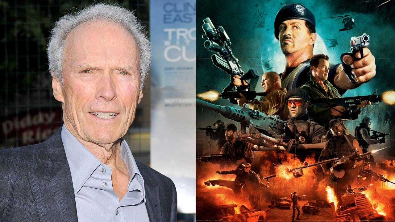 Clint Eastwood Talks 'The Expendables 3' - YouTube