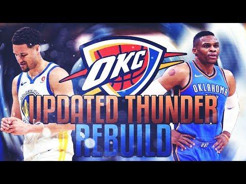 TRADING PAUL GEORGE! UPDATED THUNDER REBUILD! NBA 2K18