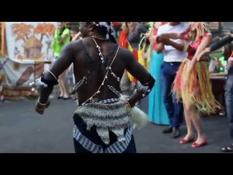 Африканские танцы в Турции Краснодарского края