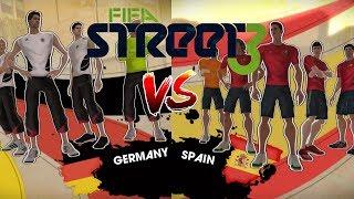 Spain vs Germany - FIFA Street 3