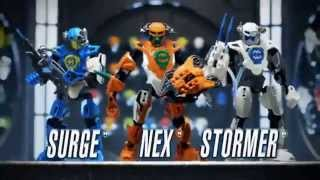 Hero Factory 2.0 - Nex, Stormer,Breeze,.. - TV Toy Commercial - TV Spot - LEGO