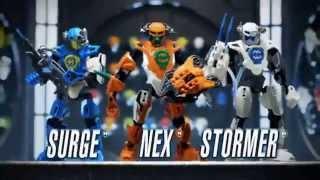Hero Factory 2.0 - Nex, Stormer,Breeze,.. - TV Toy Commercial - TV Spot - LEGO