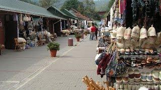 Сувенирный рынок в Яремче. Отдых в Яремче Карпатах