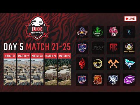 🔴LEO PUBG Tournament DAY5