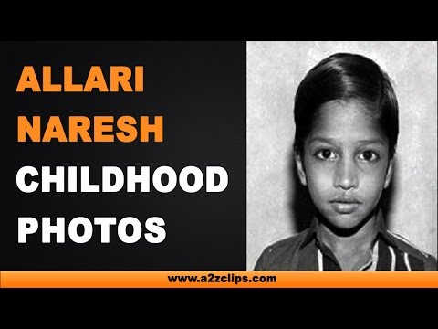 Allari Naresh Childhood Photos