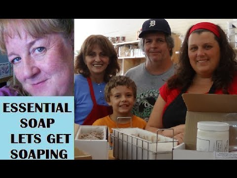How To Make Soap Classes At The Cornerstone Market With Essential Soap