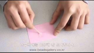 초보자 비즈공예Beads Craft주얼리에폭시사용법Jewelry Epoxy how to usemp4