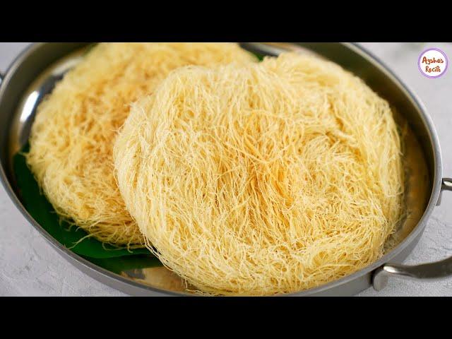 ডালডা বা বাটার ছাড়াই সহজ উপায়ে ভেজালমুক্ত লাচ্ছা সেমাই | Homemade Laccha semai Recipe/ Pheni making