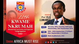 Gambar cover AFRICA Must Rise by Prof. PLO LUMUMBA