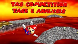 Super Mario 64 - TAS Competition Task 6 - Analysis