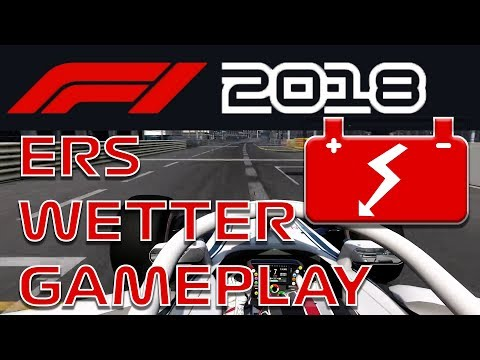 F1 2018 LEAKS!! GAMEPLAY, ERS SYSTEM, WETTER