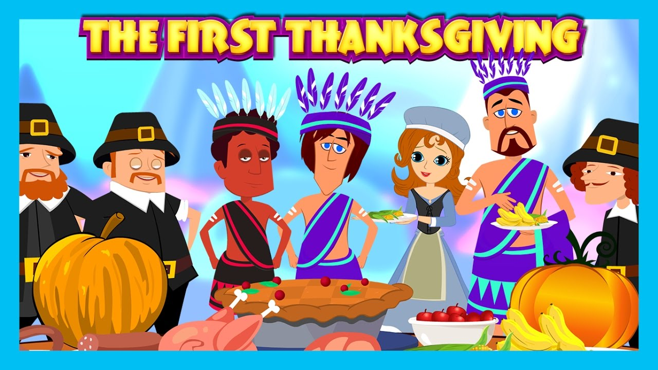 The First Thanksgiving English Story For Kids The Story Of