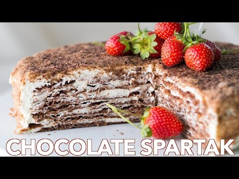 Dessert: Chocolate Spartak Recipe - Natashas Kitchen